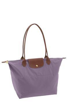 Longchamp-pretty purple! Makes me think of Megan!