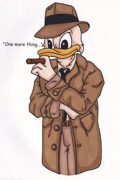 Columbo Duck in colour