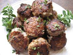 Italian Sausage Meatballs w/ Fresh Herbs