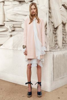 Chloé Shows Standout Coats for Pre-Fall 2014