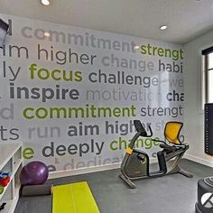 My workout room
