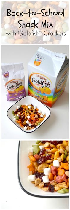 ... | Baked pumpkin oatmeal, Goldfish crackers and Blackberry sangria