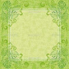 Abstract Floral Background  #GraphicRiver         Abstract green floral background. Contour plants, frame and grunge pattern   Vector EPS 10 plus AI CS 5 plus high-quality Jpeg. Editable vector file, containing only vector shapes. No gradients. Contains transparencies.     Created: 9April13 GraphicsFilesIncluded: JPGImage #VectorEPS #AIIllustrator Layered: No MinimumAdobeCSVersion: CS5 Tags: abstract #art #backdrop #background #banner #border #contour #curve #design #eps10 #flora #floral…