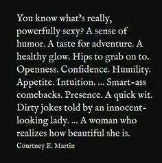 What makes a woman sexy.