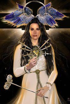 Lana Del Rey #art by Carlos Gzz