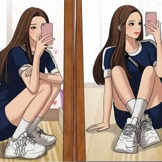 "[UPDATE] ""A girl who is always criticized for her appearance. Invite you to watch: True beauty. Cute Backgrounds For Iphone, Korean Anime, Webtoon Comics, Anime Love Couple, Ulzzang, Cute Anime Pics, Beautiful Anime Girl, Poses, Tips Belleza"