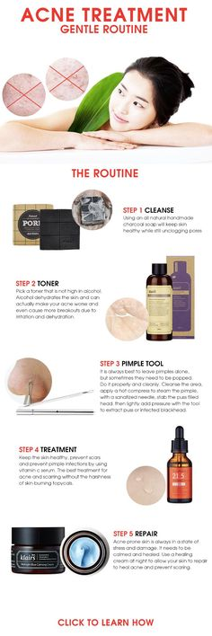 Gentle acne treatment routine for all acne sufferers! >>>…