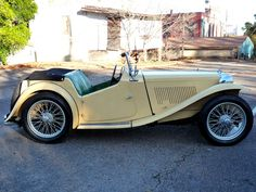 This 1948 MG TC is powered by its factory 1.25 liter XPAG inline-four. The matching numbers car was purchased by the second owner in 1953 in Massachusetts, and it remained with the same family until 2010. The previous owner restored the roadster in 2012 before passing earlier this year and replaced