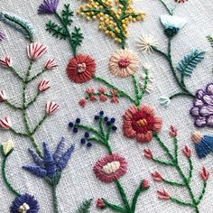 Cactus Embroidery, Hand Embroidery Projects, Hand Embroidery Flowers, Embroidery Needles, Embroidered Flowers, Embroidery Applique, Cross Stitch Embroidery, Embroidery Patterns, Fall Cross Stitch