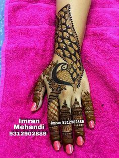 Peacock Mehndi Designs, Modern Mehndi Designs, Mehndi Design Photos, Beautiful Mehndi Design, Arabic Mehndi Designs, Mehndi Images, Beautiful Rangoli Designs, Henna Designs, Nail Designs