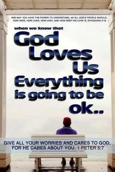 The sweetest story every told:  God loves you!