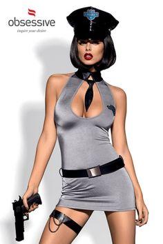 Catalogue du sexe > Costume Police Dress