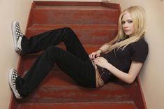 Avril Lavigne. Just I like her very much.