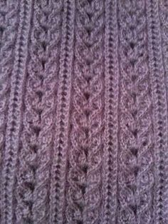 Discover thousands of images about Just the photo no pattern. Can't tell if the garter stitch is a neck band or an armhole. The lace is nice Knitting Stiches, Sweater Knitting Patterns, Free Knitting, Knit Crochet, Crochet Hats, Moda Emo, Mens Activewear, Le Point, Travel Size Products