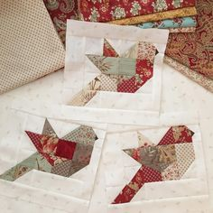 679 vind-ik-leuks, 66 reacties - Margot Languedoc (@thepatternbasket) op Instagram: 'I started my Autumn Feathers quilt this week. I think I might need one for every season 😊 Can't…'