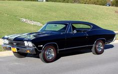 1968 Chevrolet Chevelle Positraction axle and suspension 1968 Chevelle Ss, Chevrolet Chevelle, Chevy, Classic Chevrolet, Chevrolet Malibu, Chevelle For Sale, Malibu Black, American Muscle Cars, General Motors