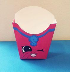 Shopkins Season 3 - Fiona Fries French Fry Box for Shopkins Birthday Parties