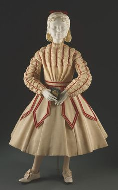 Child's dress  circa 1867-68. Philadelphia Museum of Art