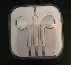 IPHONE EAR BUDS (BRAND NEW) FREE SHIPPING #Apple