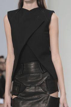 Nicolas Andreas Taralis SS 12. women's futuristic fashion and style.