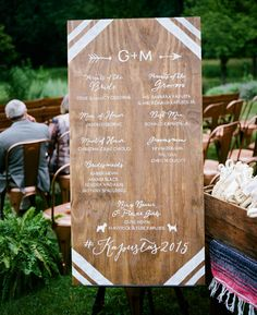 20 Creative Ways to Display Your Wedding Hashtag  | Photo by: Ash Imagery  | TheKnot.com