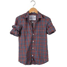 Frank & Eileen - Barry Red and Blue Plaid Shirt