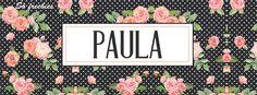 Capas para facebook personalizadas com nomes de seguidoras - Cantinho do blog