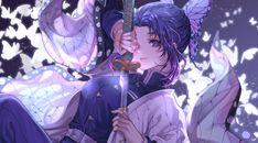 4K Shinobu Kocho Katana Kimetsu no Yaiba Wallpaper, HD Anime 4K Wallpapers, Images, Photos and Background - Wallpapers Den