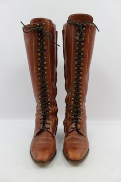 Vintage 70s GRANNY BOOTS! To be worn with Granny Dresses...Hot Pants....and Jeans!