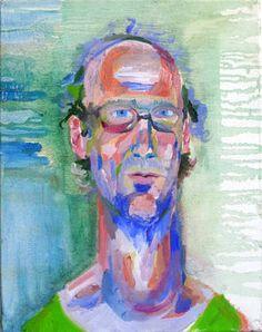 "Saatchi Art Artist ute ringel; Painting, ""Jo"" #art"