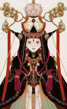 嵌入图像的永久链接@(Ψ)采集到人物设计(1846图)_花瓣插画/漫画
