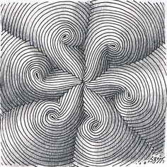 I feel this is a good example of design element of lines. The curves, repetition, and uniformity of the lines create movement, texture, and draw the eye into the center of the picture.. The image also provides a 3D illusion of the spirals coming off of the page.
