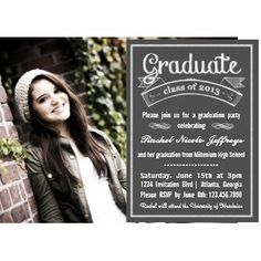 1000+ images about Graduation invitation templates on ...