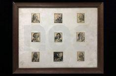 """""""Les livres du second rayon, irréguliers et libertins"""" Portraits lettrines originaux JL.PERRICHON"""