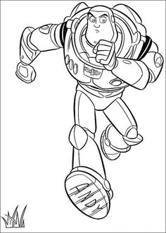 buzz lightyear run fast coloring pages for kids printable toy story coloring pages for kids