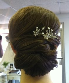 Classic Knot...by Calista Brides Hair & Makeup Artistry