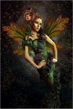 forest fairy art | Forest Fairy by sweetangel1