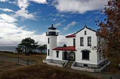 Admiralty Head lighthouse Fort Casey, WA