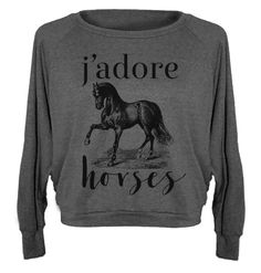 J'Adore Pullover from One Horse Threads