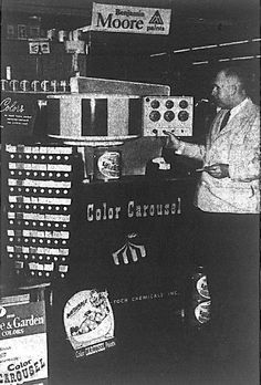 Harvey and the color carousel 1956