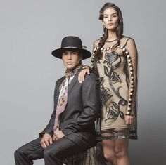 Stunning Images Show How Native American Fashion Looks Without Cultural Appropriation - original designs by Bethany Yellowtail