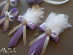 Ribbons Galore, Corsage Wedding, Corsages, Sewing Tutorials, Hair Accessories, Rose, Crafts, Dresses, Bridal Garters