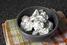 tzatziki-clad potatoes