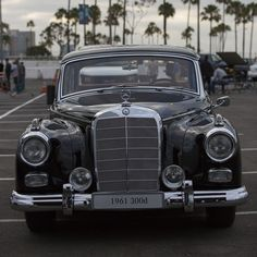 "How do you end a day of filming with Mercedes-Benz icons past and present? This incredible 300d ""Adenauer"" is our kind of finishing statement, and it makes a powerful impact among the best of the best. We're already excited to show you the fruits of our labor. Join us again tomorrow as we turn the #MBPhotoPass over to our team in Stuttgart.  #MBPhotoPass #Mercedes #Benz #300D #W189 #Sedan #BehindTheScenes #carsofinstagram #instacar #germancars #luxury #CA #California"