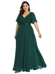 Find Ever-Pretty Women's Plus Size Double V-Neck Evening Party Maxi Dress 09890 online. Shop the latest collection of Ever-Pretty Women's Plus Size Double V-Neck Evening Party Maxi Dress 09890 from the popular stores - all in one Navy Bridesmaid Dresses, Bridesmaid Dresses Plus Size, Evening Dresses Plus Size, Evening Gowns, Prom Dresses, Evening Party, Formal Dresses, Wedding Dresses, Plus Size Dresses To Wear To A Wedding