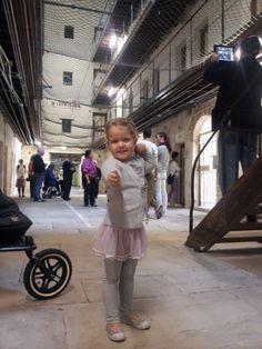 Fremantle Prison Tour with Kids