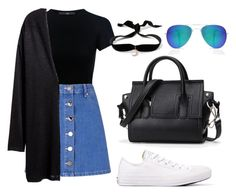 """""""66"""" by ddaisiee on Polyvore featuring TIBI, Converse, Aamaya by priyanka, Miss Selfridge, H&M and Boohoo"""