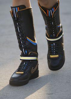 "unstablefragments: "" Nike x Riccardo Tisci Air Force 1 via Sweatthestyle """