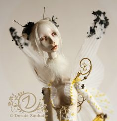 a unique art Doll Butterfly Spirit by tirelessartist on Etsy, $1500.00