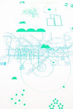 serigraphie affiche poster illustration graphic design - silk screen bichromy
